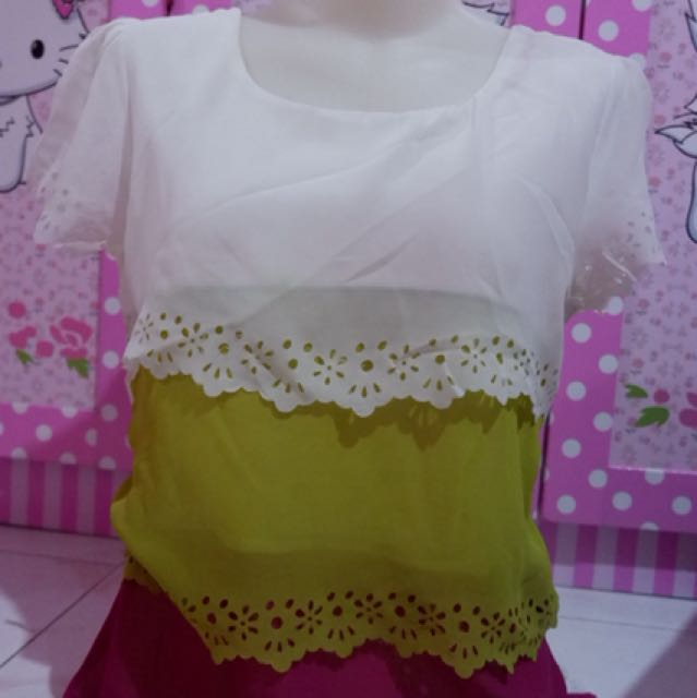 Blouse rainbow