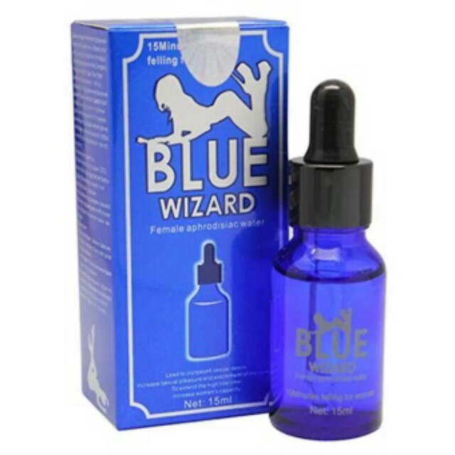 blue wizard food drinks drinks on carousell