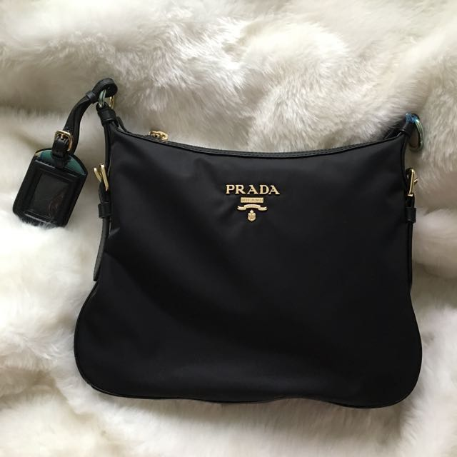 0fd52e508a31 ... coupon for bn authentic prada nylon sling bag luxury bags wallets on  carousell 7ffb3 320f8