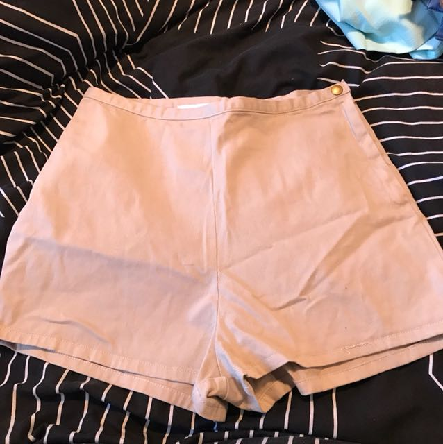 Brand new American Apparel Khaki shorts