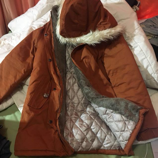 Brick Orange Jacket