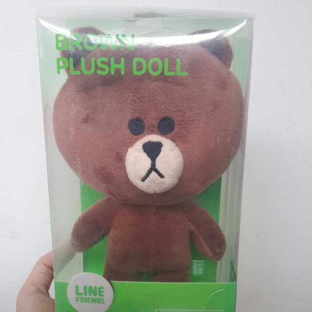 Brown LINE doll ORI