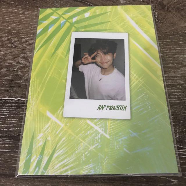 BTS 2017 Summer Package Rap Monster Selfie Book