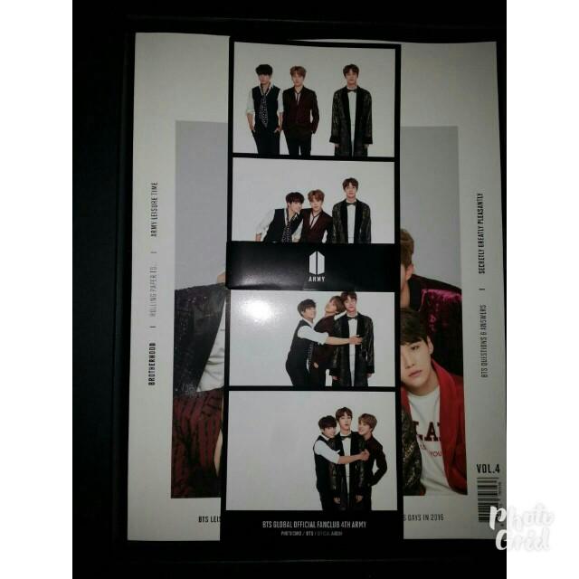 BTS Bookmark Army Kit
