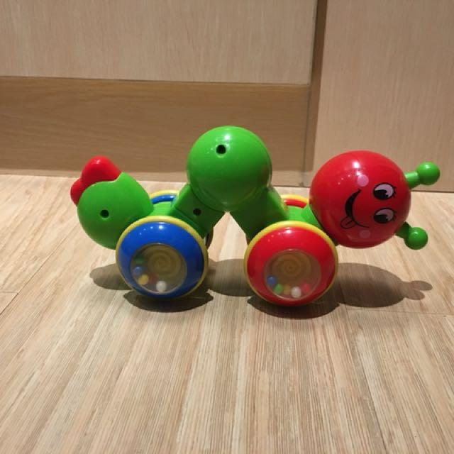 Caterpillar baby toy