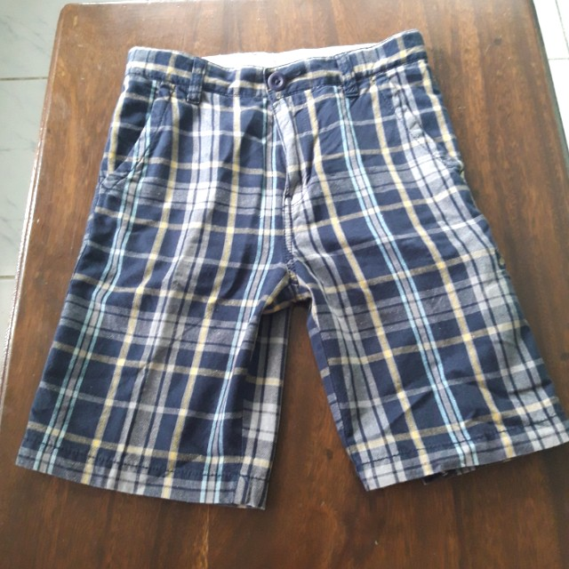 Checkered Shorts(boy)