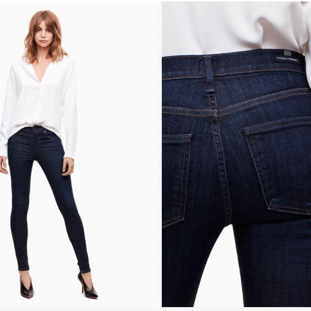 Citiznes of Humanity Rocket Icon jeans- Aritzia