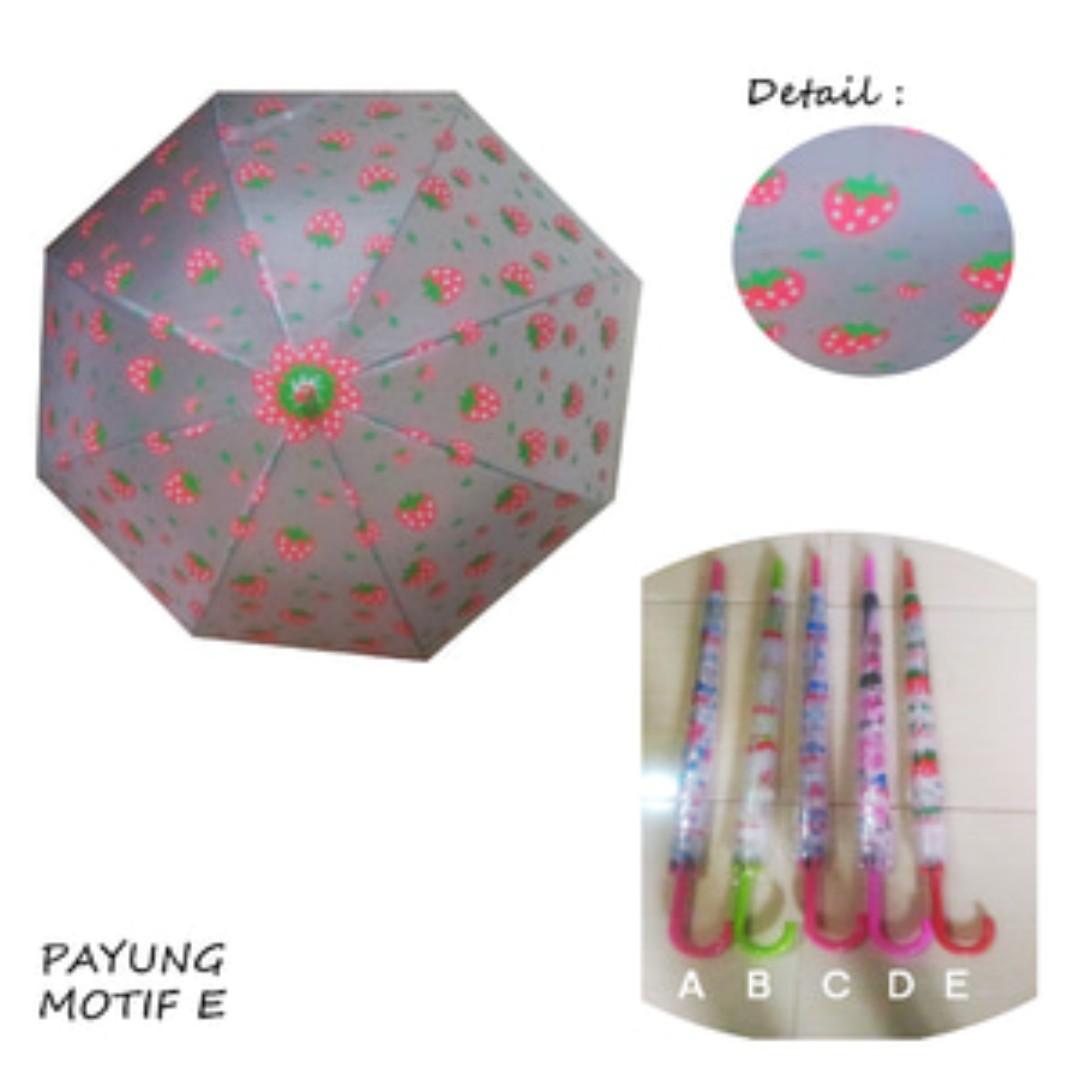 CMRPYG - Best Seller Payung Cantik Motif E