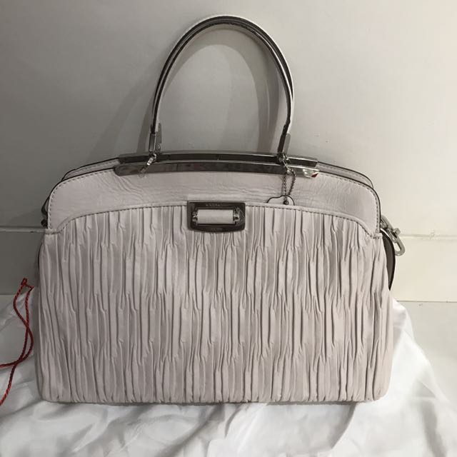 Coach Madison Gathered Leather Andie Satchel