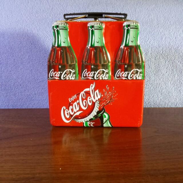 Coca-Cola 6 pack tin
