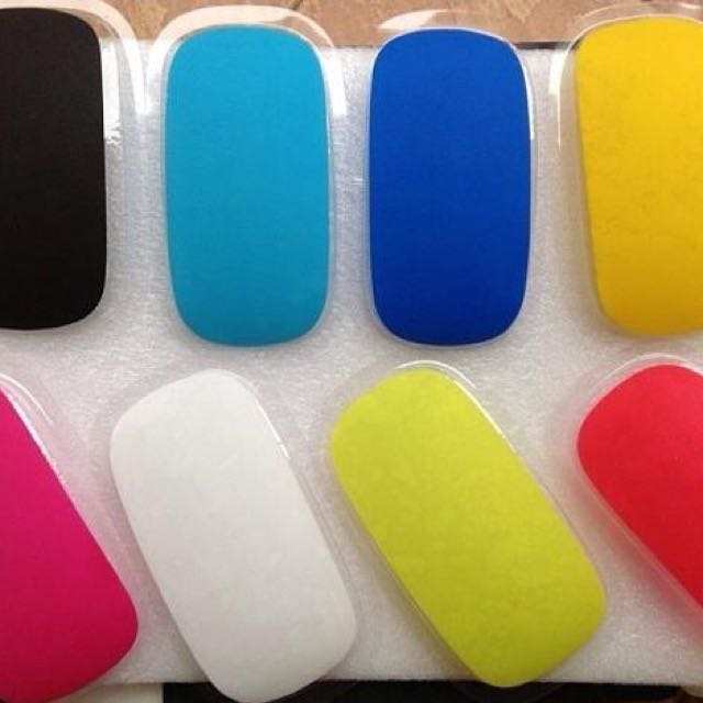 COLORED APPLS MAGIC MOUSE COVER