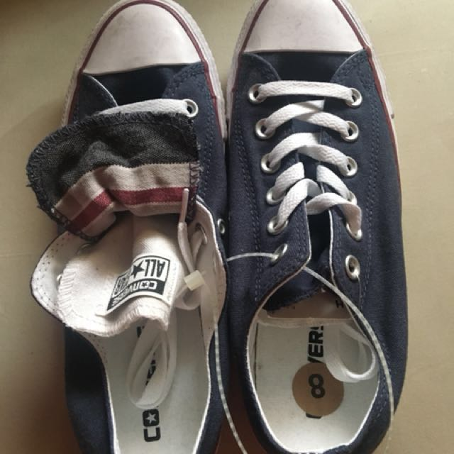 Converse Shoes (Blue)