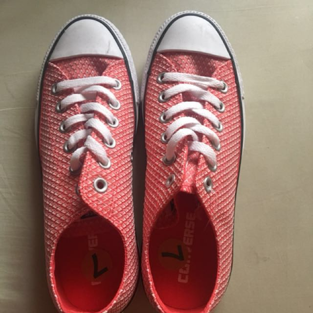 Converse Shoes (Red)