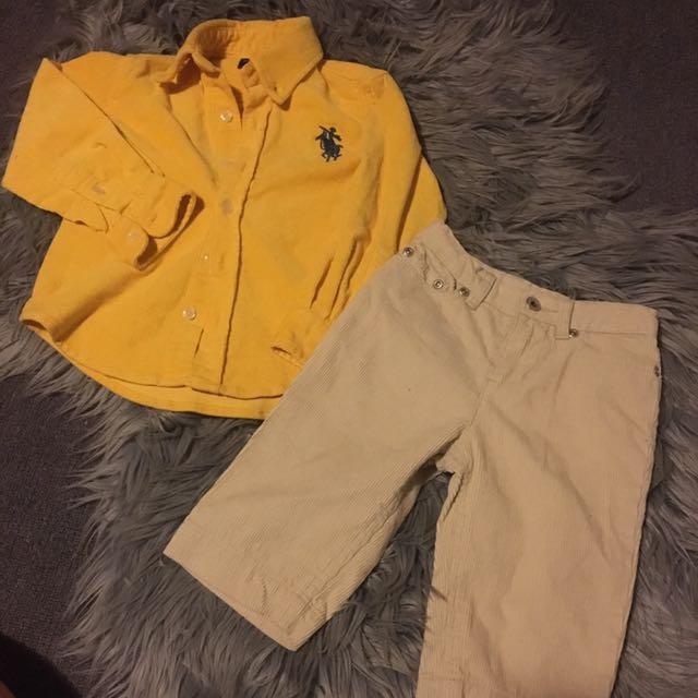 Corderoy clothing