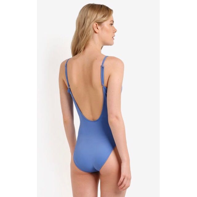 e1c70c0f8db Cotton On Body Blue One Piece Swimsuit, Women's Fashion, Clothes, Others on  Carousell