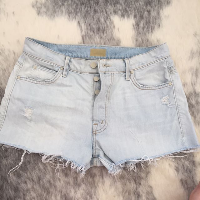 Denim Shorts - Mother Denim Size 27 worn once