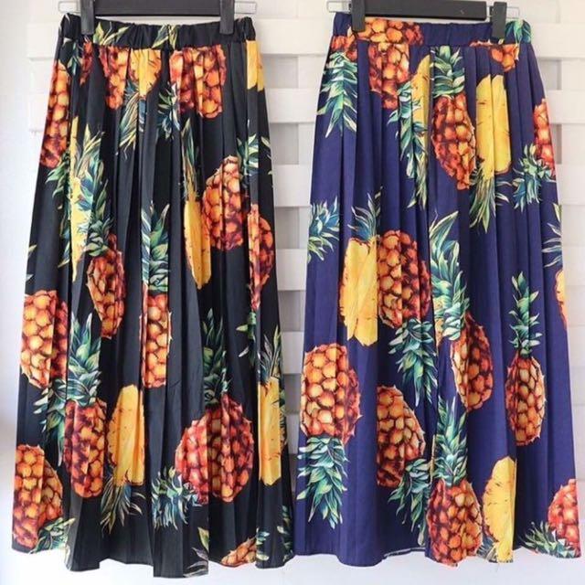 D&G Inspired Pineapple Skirt