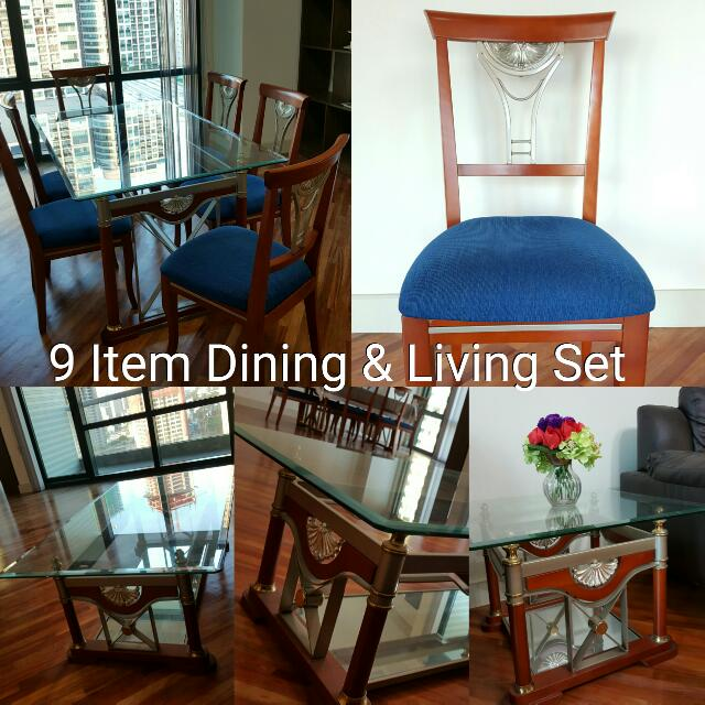 Dining and Living Set