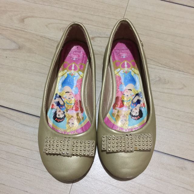 Disney Gold Doll Shoes 11