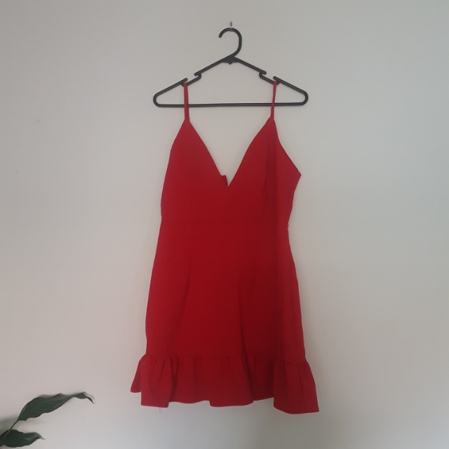 Dissh boutique red dress