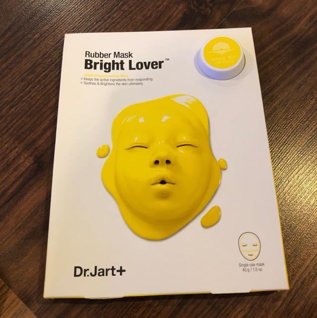 Dr Jart rubber mask bright lover