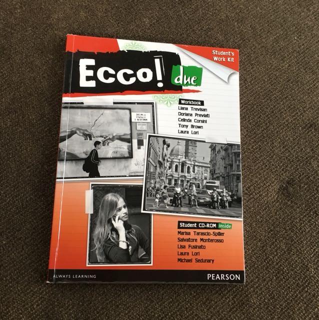 Ecco! Due Italian Workbook