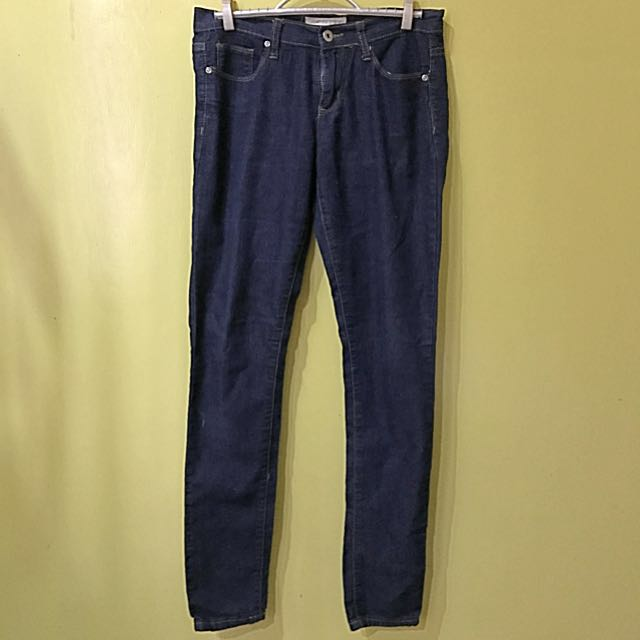 F21 Dark Blue/Black Jeans