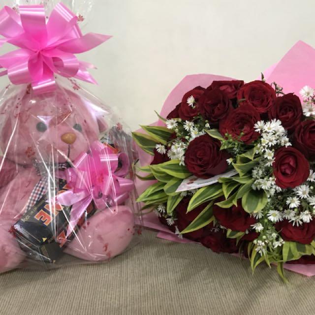 Flower arrangement bouquet