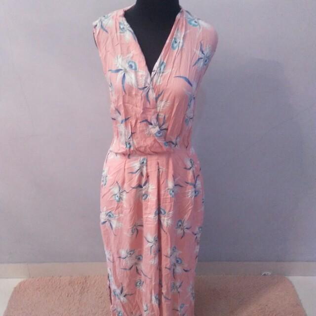 REPRICE!!!!  Flowery Dress Minimal