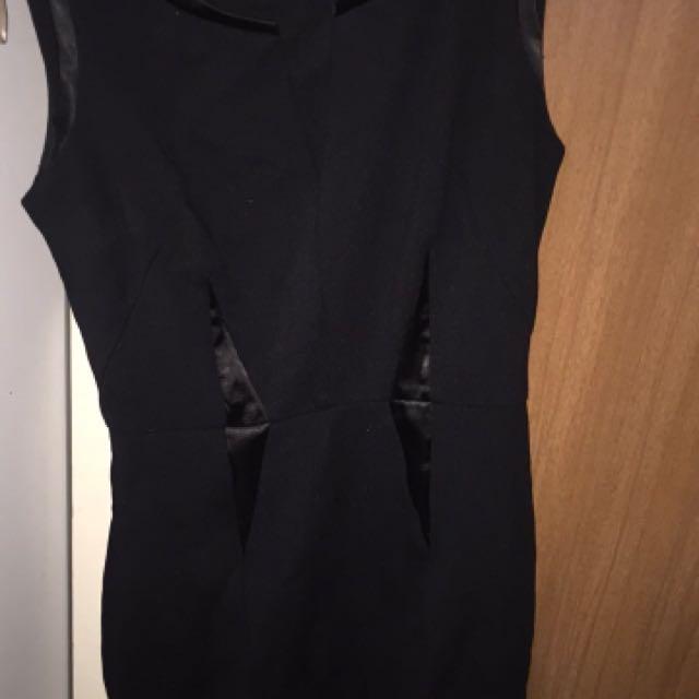 Forecast Black Dress