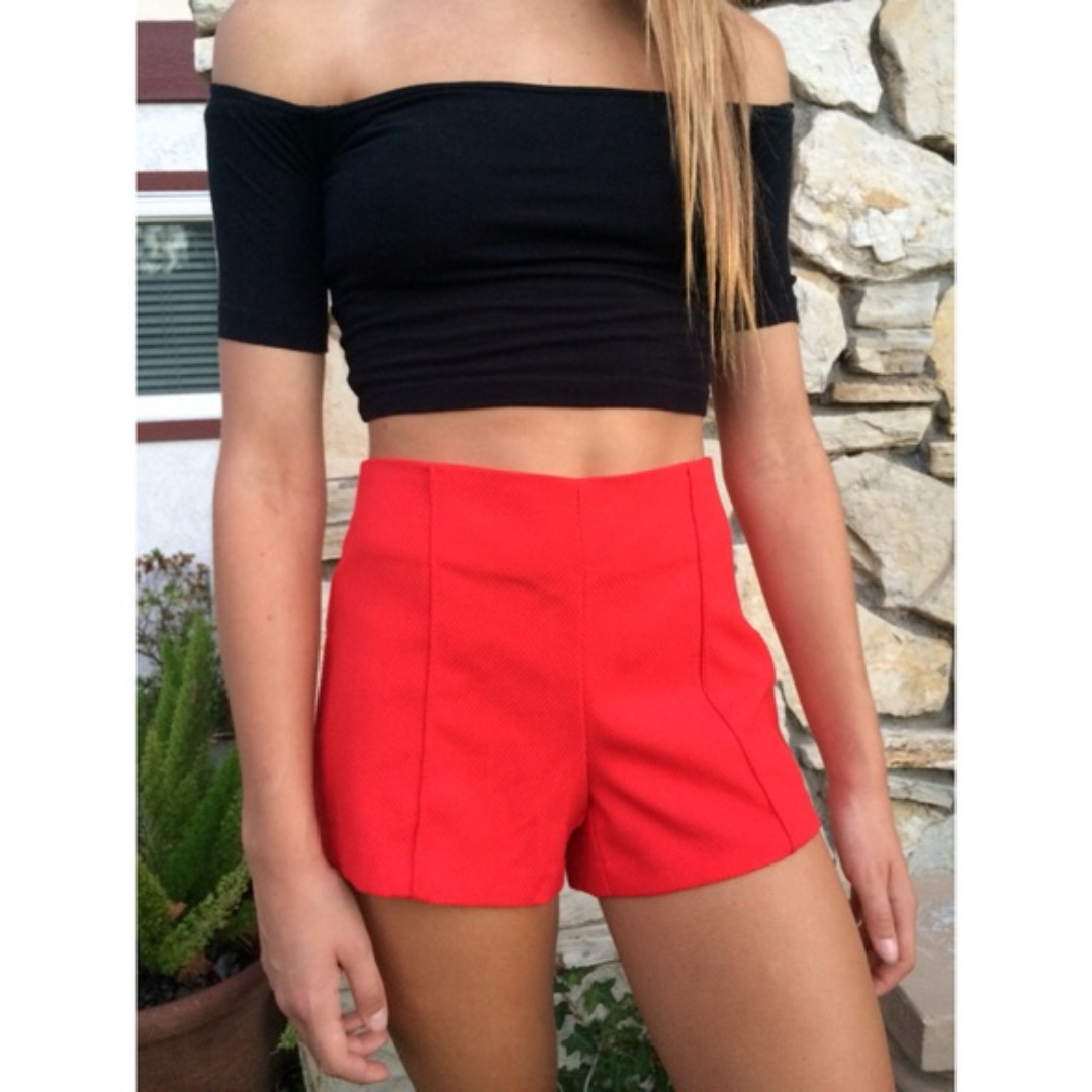 Forever 21 Red Shorts