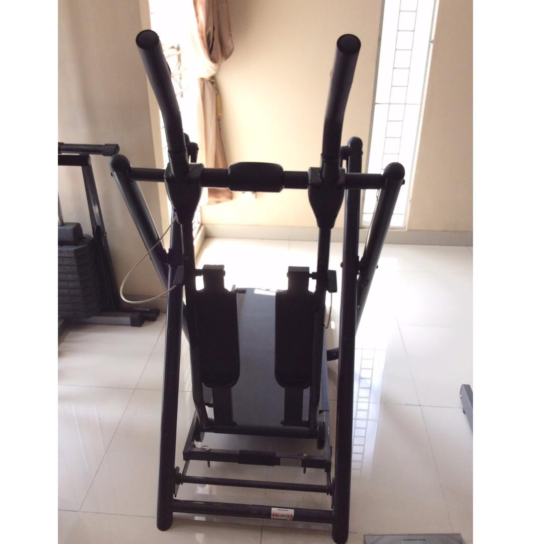 Freestyle Glider + Treadmill Manual 2in1
