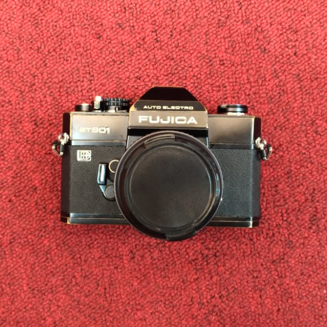 自改的fujica st801+ 大姑媽Pentax Takumar 50mm 1.4 m42鏡頭   底片相機 復古相機 使用135底片