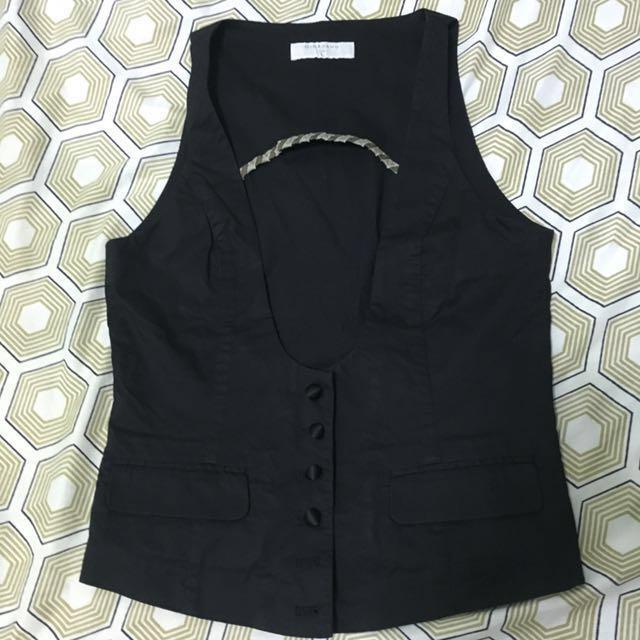 Giordano black vest