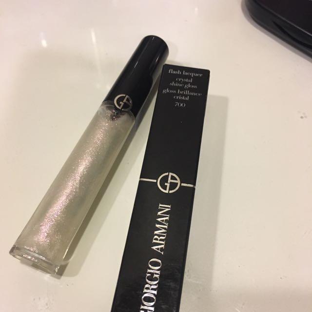 Giorgio Armani奢華晶漾訂製唇蜜