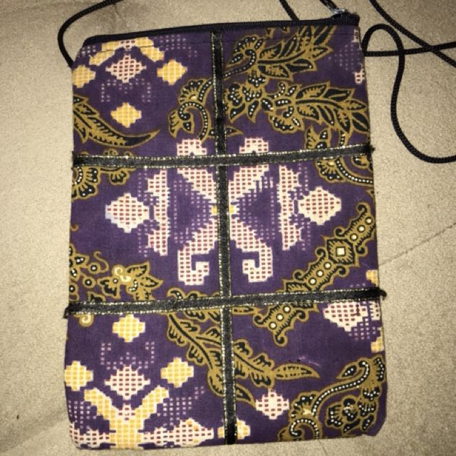 Handmade vintage pouch
