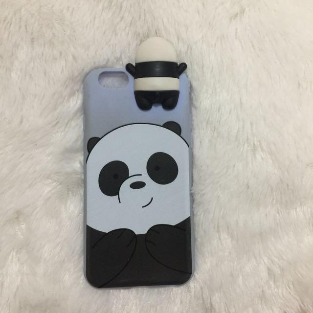 Hiding case we bare bears panpan iphone 6