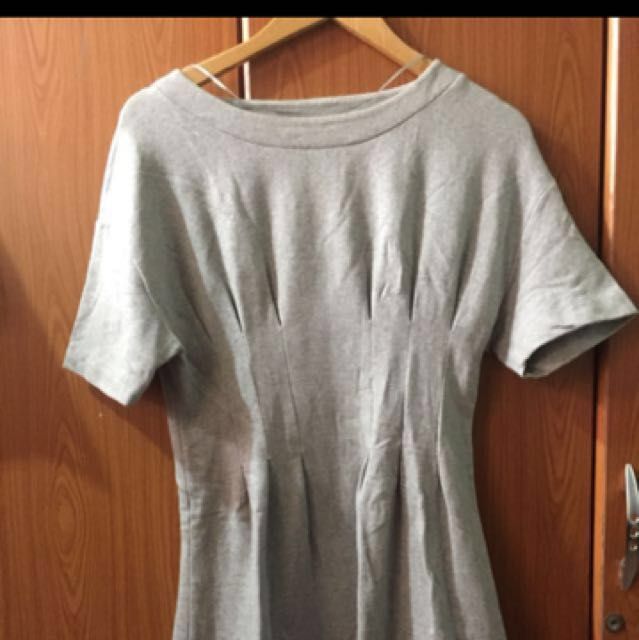 H&M Gray dress *Large