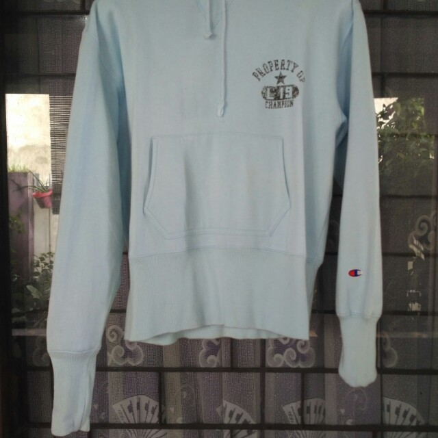 Hoodie Champion Baby Blue