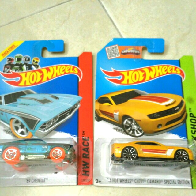 Hot wheels - Chevy collections