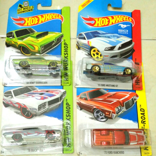 Hot wheels - muscle cars
