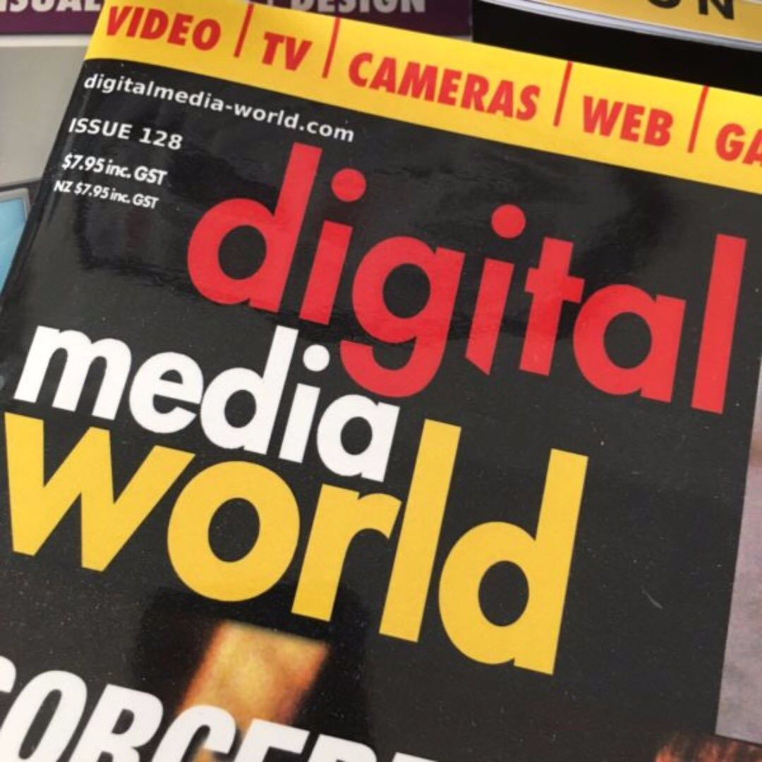 Huge 58x DMW (Digital Media World) mag collection. RRP$462 3D/anim/video++