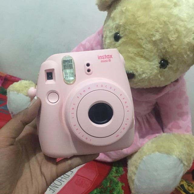Instax mini 8 (polaroid camera)