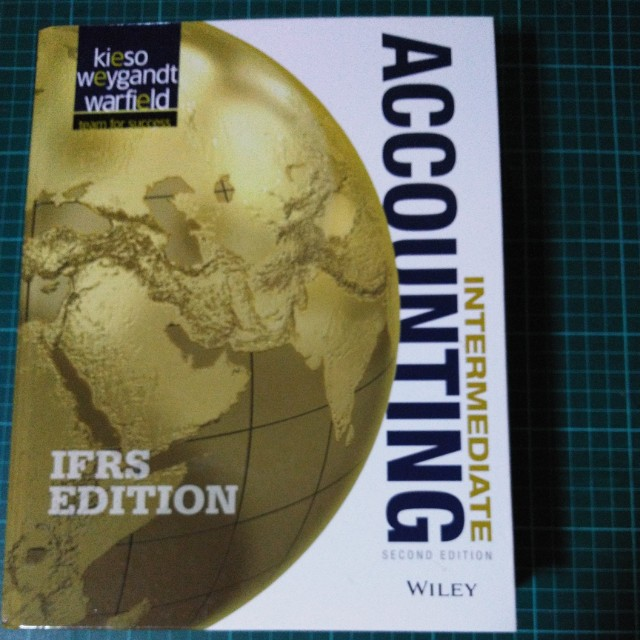 Intermediate Accounting 2nd Edition Hard Bound On Carousell
