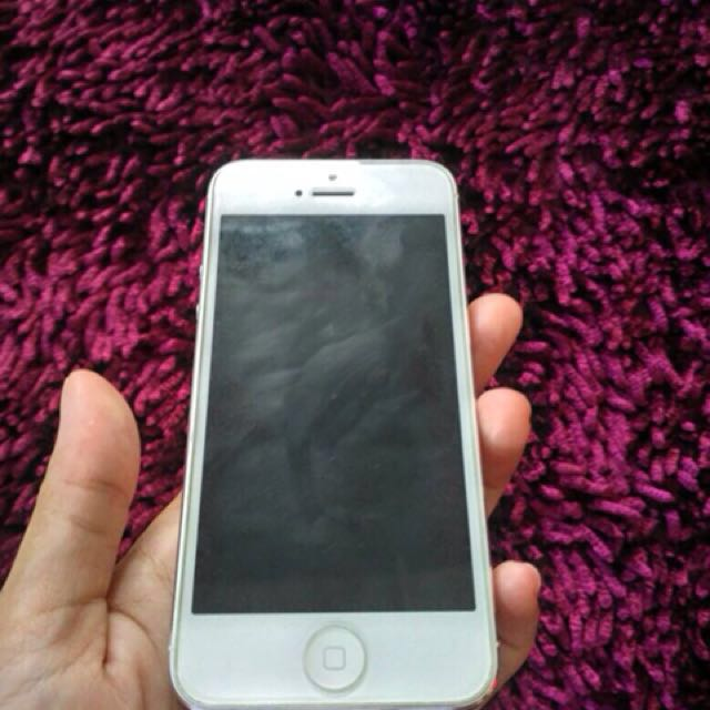 Iphone 5 32gb white 070657227d