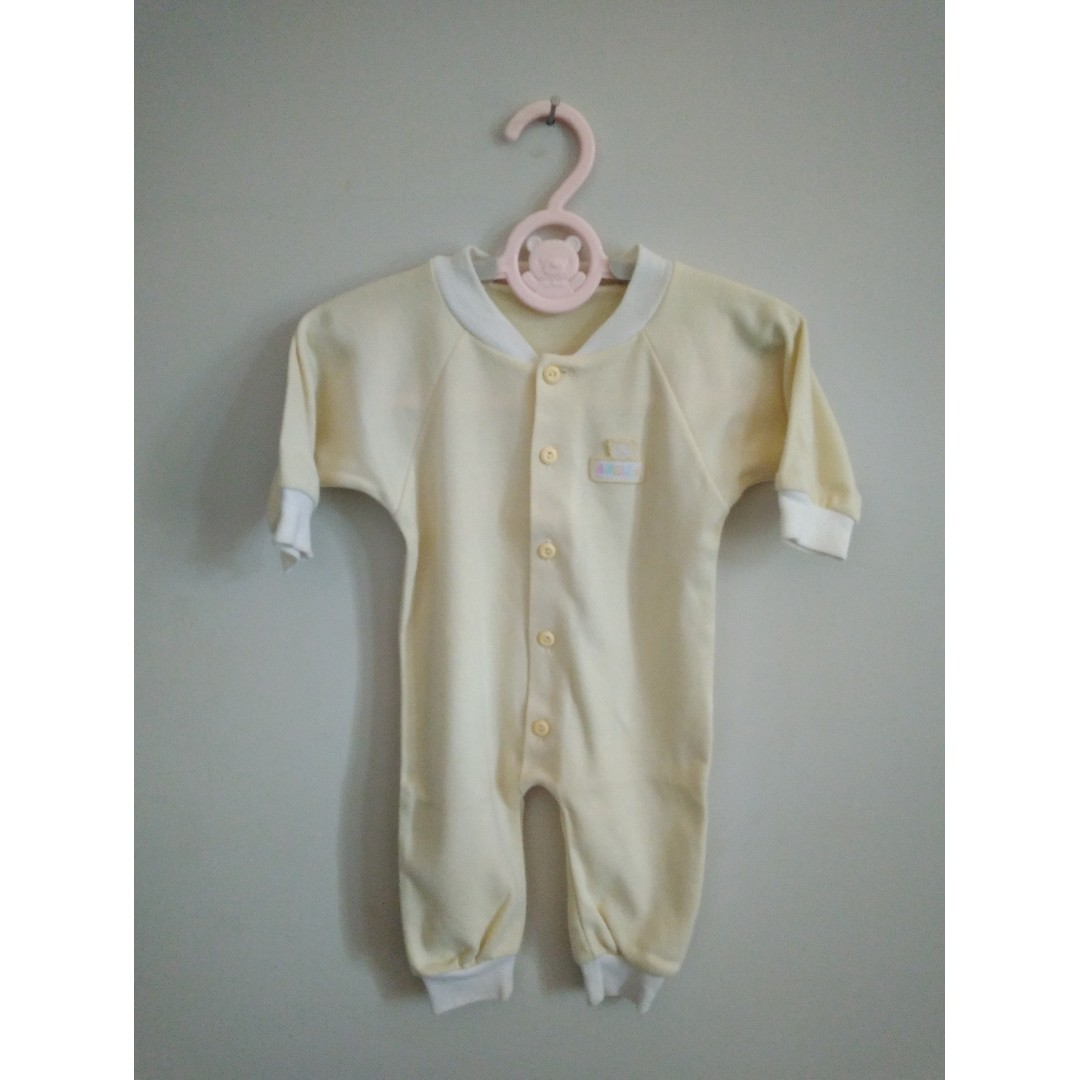 Jumpsuit Baby Girl (Yellow)