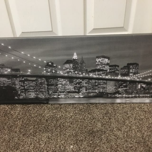 Jysk City Skyline Wall Decor