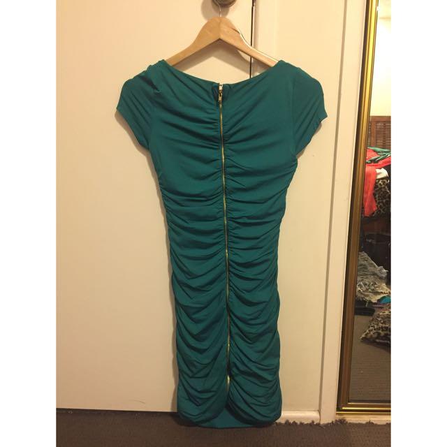 Kookai Green Dress