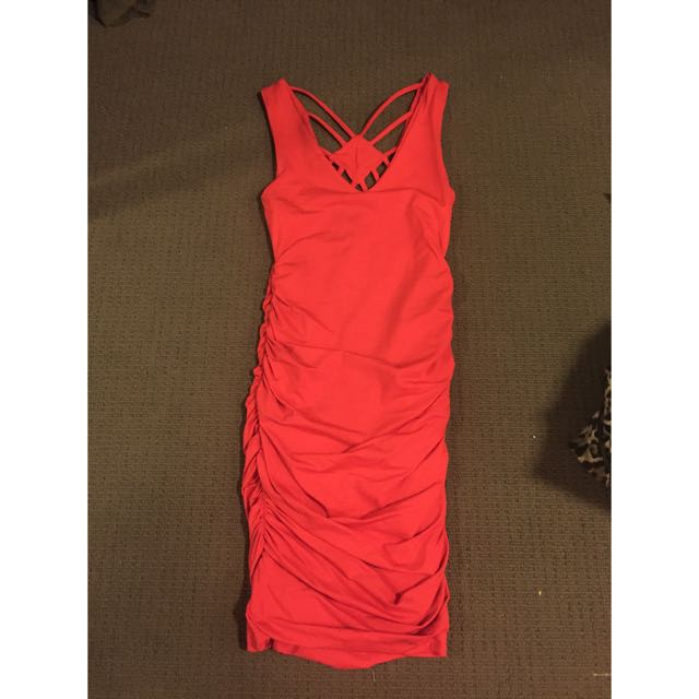 Kookai Red Dress