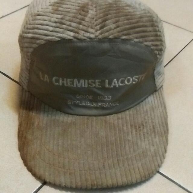 lacoste corduroy cap 96c2237f8d9